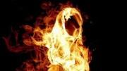 معلم اصفهانی مقابل ساختمان دادگستری خود را به آتش کشید!