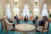 دیدار حجت الاسلام رییسی با ۶ کاندید انتخابات ریاست جمهوری / فیلم