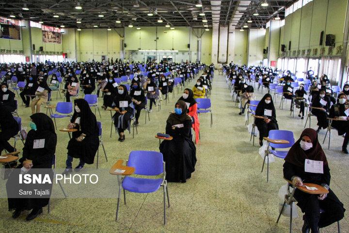 آمار زنان و مردان شرکت کننده در کنکور ۱۴۰۰