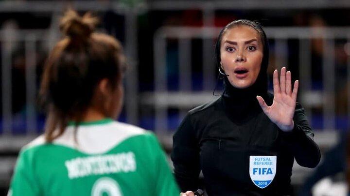 دو داور ایرانی جام جهانی فوتسال را سوت میزنند