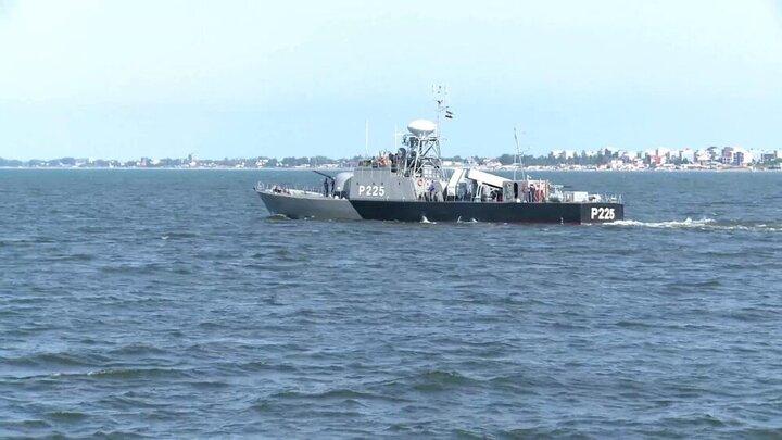 آغاز تمرین دریایی امنیت پایدار نیروی دریایی ارتش در دریای خزر