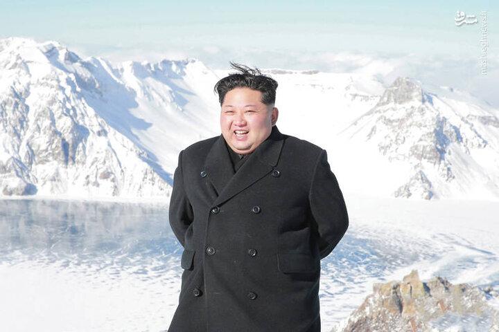 لحظه اسب سواری رهبر کره شمالی / فیلم