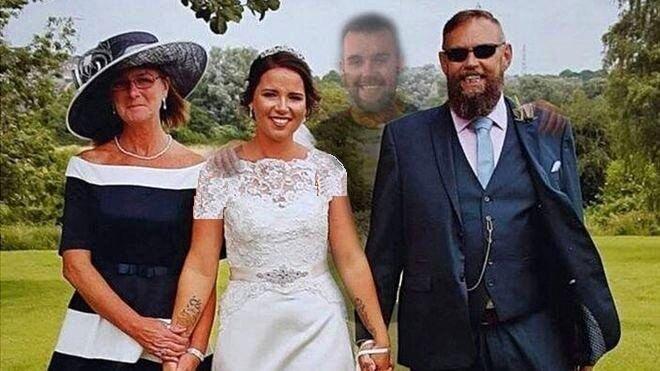 ابتکار جالب عروس برای آوردن برادر مردهاش به مراسم عروسیاش! / عکس