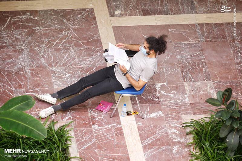 مدل موهای جالب داوطلبین کنکور ۱۴۰۰ سوژه شد / تصاویر