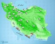 گزارش آب و هوا ۱۰ تیر ۱۴۰۰ / جنوبیها منتظر گرد و خاک باشند