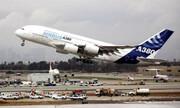 تردید خلبان بزرگترین هواپیمای مسافربری جهان از فرود / فیلم