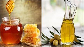پیشگیری و درمان ریزش مو با ماسک عسل و روغن زیتون