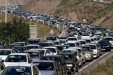 ترافیک فوق سنگین در محورهای شرقی تهران
