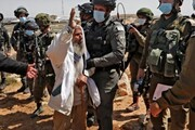 نظامیان صهیونیست به معترضان فلسطینی در کرانه باختری حمله کردند