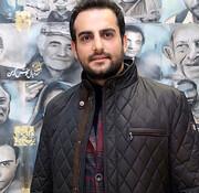 گریم حامد کمیلی در  سریال «قبله عالم» / عکس