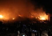 تصاویری از بمباران محل تجمع داعش در سوریه / فیلم