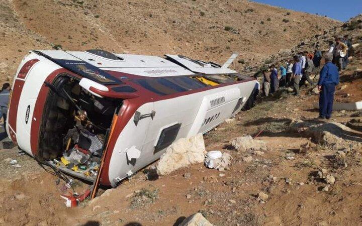 نظر نهایی در حادثه واژگونی اتوبوس خبرنگاران به کجا رسید؟