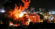 بمباران نوار غزه از سوی جنگندههای رژیم صهیونیستی