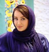 صورت خونی بازیگر زن جوان ایرانی / عکس
