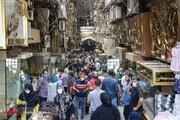 بازار تهران علی رغم هشدار مسئولان  همچنان باز است! / تصاویر