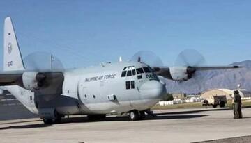 یک هواپیمای نظامی با ۸۵ سرنشین در فیلیپین سقوط کرد