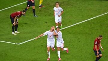 خلاصه دیدار چک ۱-۲ دانمارک | صعود دانمارک به نیمه نهایی یورو ۲۰۲۰ / فیلم