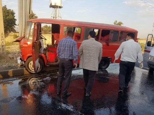 حادثه خونین در بزرگراه آزادگان / ۷ نفر مصدوم شدند
