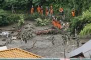 ۳ کشته و ۱۱۳ مفقودی بر اثر رانش زمین در ژاپن