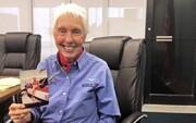 سالمندترین فرد به فضا سفر میکند / عکس