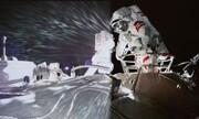 لحظه پیاده روی فضانوردان چینی در ایستگاه فضایی / فیلم
