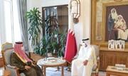 دیدار نخستوزیر قطر با سفیر عربستان در دوحه