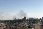 تصاویری از آتشسوزی گسترده یک انبار در بزرگراه فتح / فیلم