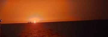علت انفجار مهیب در دریای خزر چه بود؟