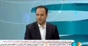 ناراحتی عجیب خبرنگار تلویزیون از گیر دادن به حجابش در برنامه زنده / فیلم