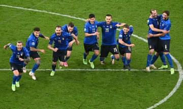 خلاصه دیدار ایتالیا ۱ (۴)-(۲) ۱ اسپانیا   صعود ایتالیا به فینال در ضربات پنالتی / فیلم