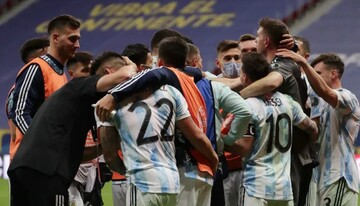خلاصه دیدار آرژانتین ۱ (۳)-(۲) ۱ کلمبیا؛ آرژانتین در فینال به برزیل رسید! / فیلم