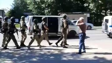 پایان گروگانگیری در روسیه با بازداشت گروگانگیر