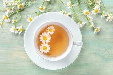 خواص معجزهآسای چای بابونه برای بدن؛ از درمان زخم و ورم معده تا تنظیم قند خون