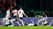 خلاصه دیدار  انگلیس ۲-۱ دانمارک | صعود انگلیس به فینال با پنالتی مشکوک / فیلم
