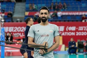 پوریا فیاضی از تیم ملی والیبال خداحافظی کرد