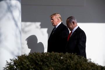 ترامپ: نتانیاهو به من بدهکار است