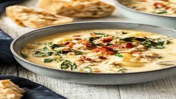 سوپ ایتالیایی توسکانا + طرز پخت