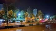 محل دقیق انفجار در پارک ملت تهران / عکس