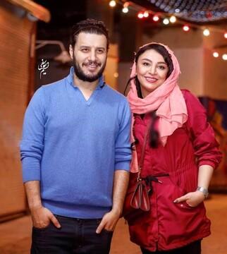 نحوه آشنایی جالب جواد عزتی و همسرش / عکس