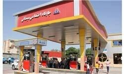 حادثه در جایگاه سوخت بزرگراه همت / فیلم