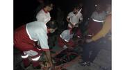 سقوط ۲ گردشگر از ارتفاعات تنگ رغز داراب