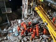 ریزش یک هتل در چین ۸ کشته برجای گذاشت