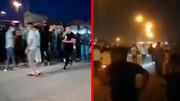 تجمع اعتراضی شبانه در خرمشهر به خاطر قطعی برق و آب / فیلم