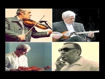نصب سردیس ۴ هنرمند موسیقی در تهران