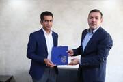 کامرانیفر رسما کارش را در سمت جدید فدراسیون فوتبال آغاز کرد
