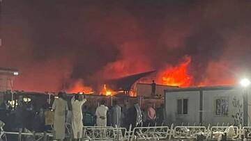 افزایش تعداد کشتههای حادثه بیمارستان عراق به ۱۲۴ نفر