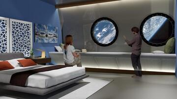 گذراندن تعطیلات در فضا واقعی میشود / آمریکا هتل فضایی میسازد!