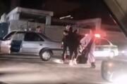 کتککاری شدید ۴ دختر کرمانی در خیابان! / فیلم