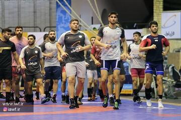 اعلام زمان اردوی تیم ملی کشتی آزاد ایران قبل از المپیک