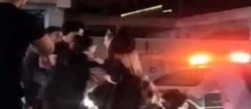 درگیری شدید و کتککاری ۴ دختر کرمانی / فیلم